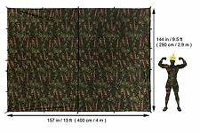 Aqua Quest Defender King Kamo Tarp Basha - 100% Waterproof 4 x 3 m Camouflage