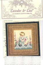 Lavender & Lace Cross Stitch Chart & Mill Hill Bead Pack ~ EMMA'S GARDEN #49