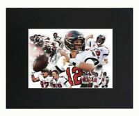 Tampa Bay Buccaneers super bowl champions NFL Football Tom Brady Print Matted