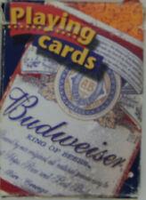 Vintage 2000 Budweiser Playing Cards