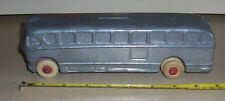 Bus coach  National Trailways ACF Brill 1940s heavy metal bus bank
