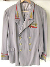 USSR Old Uniform coat of General with awards, hand embroidery, gilded buttons.