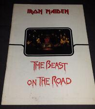 Iron Maiden: 1982 Beast On The Road U.K. Tour Book/Program