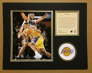 Los Angeles Lakers Cedric Ceballos Basketball 11x14 Kelly Russell Lithograph