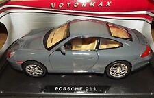 Motormax. Porsche 911. Die-cast model scale 1/18