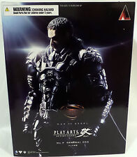 MAN OF STEEL : GENERAL ZOD FIGURE MADE BY SQUARE ENIX. PLAY ARTS. NO. 2. (TK)