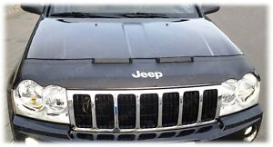 BRA Jeep Grand Cherokee WH Bj. 2005 - 2010 + Logo Steinschlagschutz Haubenbra