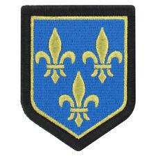 Ecusson G.N. Région Ile de France Couleur Brodé