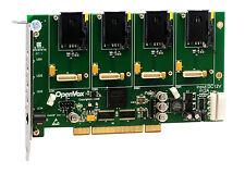 OpenVox G400P G410P0 4 Port WCDMA PCI Base Card, No Modules