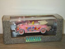 VW Volkswagen Beetle Convertible Hippy Style 1949 - Vitesse 1:43 in Box *34644