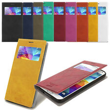 Buffalo View Flip Case for LG G7 G6 G5 LG V30 V20 LG Stylus2 LG X Screen Class