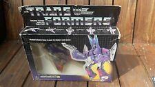 Vintage Transformers Decepticon Jet Cyclonus 1986 Hasbro En Caja