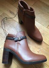 Marks and Spencer Women's Block Mid Heel (1.5-3 in.) Zip Boots