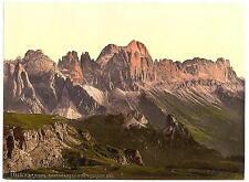 Rosengarten Group From Schlern Tyrol Austro Hungary A4 Photo Print