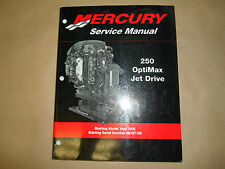 2002 Mercury 250 Optimax Jet Drive Service Shop Reparatur Manual 0E407100 OEM 02