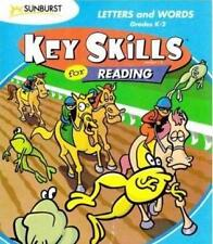 Key Skills Reading Letters and Words PC MAC CD learn alphabet match rhyming game