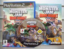 Very Rare Monster Jam: Urban Assault SONY PS2 GAME MINT!