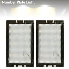 2LED Lámpara Luz de Número Matrícula para 2005-2013 Land Range Rover Sport L320