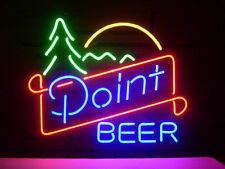 """New Point Beer Lager Neon Light Sign 18""""x14"""""""