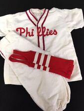 Vintage Phillies Little League Uniform Kids Small
