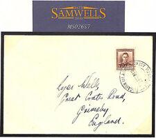 MS2657 1940 Isola di Pitcairn Nuova Zelanda Agenzia ultimo giorno di copertura Grimsby GB Lincs