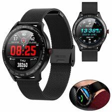 Men Boys Sport Smart Watch ECG PPG Blood Pressure Heart Rate Monitor Touchscreen