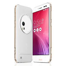 """Asus ZenFone Zoom Blanc 5.5"""" FHD 64Go + 4Go RAM Dual SIM 4G LTE Débloqué NEUF"""