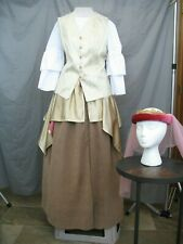 Renaissance Womens Medieval Costume Queen Lady Noble Colonial
