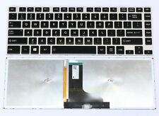 US Layout Keyboard For Toshiba Satellite M40-A M40-AT01S1 M40t-AT02S Backlit