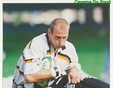 350 LAWRENCE DALLAGLIO WASPS 1/2  STICKER PREMIER DIVISION RUGBY 1998 PANINI