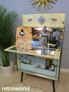 Mid Century Vintage Retro 50s 60s RIVINGTON Cocktail Drinks Home Bar Cabinet