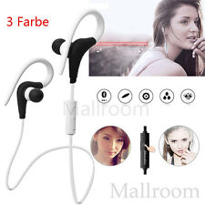 Wireless Bluetooth Headset Ohrbügel Sport Stereo Wasserdicht Kopfhörer Ohrhörer
