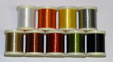1 SPOOL DANVILLE 3/0 WAXED MONOCORD THREAD PICK COLOR FLY & JIG TYING 100 YARDS