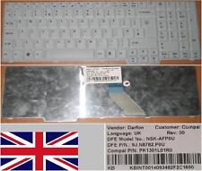 CLAVIER QWERTY UK ACER Aspire 7520 7720G NSK-AFP0U 9J.N8782.P0U PK1301L01R0 Gris
