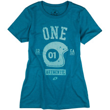 ONE INDUSTRIES WOMENS T-SHIRT top AUTHENTIC TEE DARK TEAL motocross mx