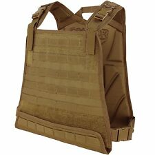 Condor Coyote Brown CPC Tactical MOLLE PALS Modular Compact ESAPI Plate Carrier