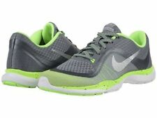 WOMEN'S NIKE FLEX TRAINER 6 PRINT  SNEAKERS GRAY NEW 831578 006 SIZE 8.5