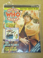 DOCTOR WHO #4 1979 NOV 7 BRITISH WEEKLY MONTHLY MAGAZINE DR WHO DALEK CYBERMEN