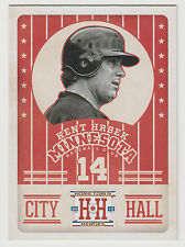 KENT HRBEK 2013 Panini Hometown Heroes Baseball City Hall Card #CH1 Twins