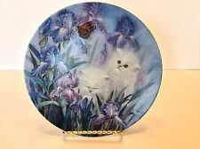 W. L. GEORGE Fine China-Petal Pals 1st Issue Garden Discovery 1070H BLUE/PURPLE