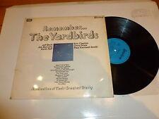 Gli Yardbirds-RICORDI - 1971 UK 12-TRACK retrospettiva LP