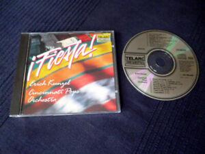 CD Erich Kunzel Cincinnati Pop Orchestra - Fiesta LATIN Classics PURE DIGITAL