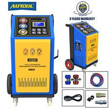 Automatic Ac Refrigerant Filling Machine Recycling Recharging R12r134ar1234yf