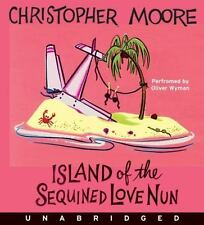 Island of the Sequined Love Nun Unabridged CD 2009 by Moore, Christop Ex-library