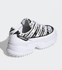 Adidas Originals Zapatos Tenis Casuales para mujer del logotipo kiellor Zapatillas Nuevas Talla 5