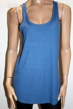 MINKPINK Brand French Blue Rib Long Tank Top Size S BNWT #TP98