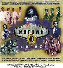 Best 40 Greatest Motown Hits 2CD Smokey Robinson Diana Ross Supremes Commodores
