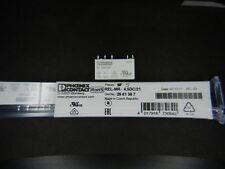 Qty 5 Phoenix Contact 29 61 36 7 2961367 REL-MR-4.5DC/21 5VDC 6A SPDT Relays