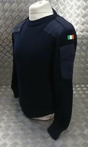 Genuine Irish Military & Police Spec Navy V Neck Uniform Pullover UK 44 JP3