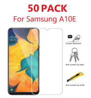 50 Pack For Samsung Galaxy A10e Premium Tempered Glass Clear Screen Protector
